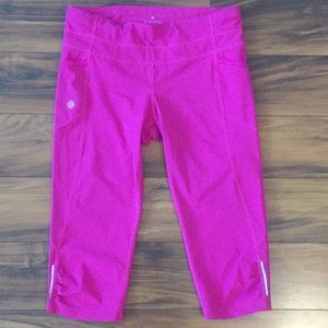 Athleta never been worn pink athletic pants!